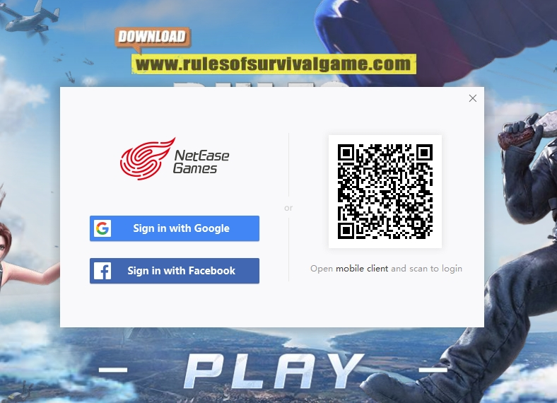 rules of survival pc update error